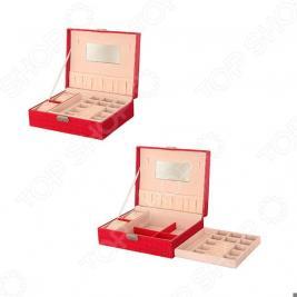 Шкатулка для украшений Elan Gallery «Красный чемодан»