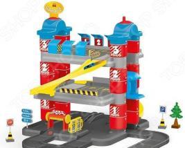 Игровой набор с машинками Dolu «Гигант. 3-уровневая парковка»
