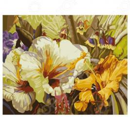 Набор для росписи по холсту Росмэн «Цветочная соната»