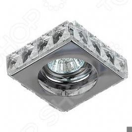 Светильник потолочный встраиваемый Эра DK66 CH/WH