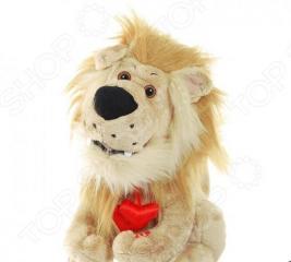 Мягкая игрушка интерактивная «Львиное Сердце»