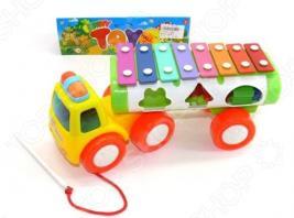 Машина-каталка развивающая Shantou Gepai «Ксилофон»