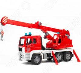 Пожарная машина-автокран Bruder Man 02-770