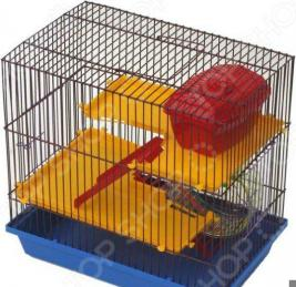 Клетка для грызунов ZOOmark 3-х этажная