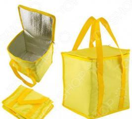 Термо-сумка. Объем: 15 л. Цвет: желтый