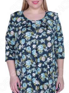Блуза Лауме-Лайн «Легкое настроение». Цвет: бирюзовый