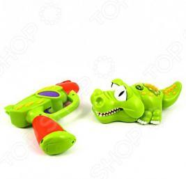 Интерактивная игрушка Silverlit Крокодил со световым пистолетом