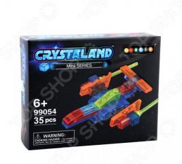 Конструктор для мальчика N-BRIX Crystaland «Звездный корабль»