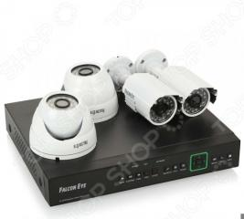 Комплект видеонаблюдения FALCON EYE FE-104D-KIT «Офис»