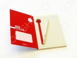 Блокнот со встроенной ручкой Suck UK Notebook & Pencil