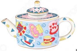 Чайник сувенирный Elan Gallery «Разноцветные чашки»