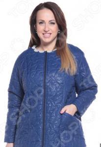 Куртка ТРЕНД «Торжественный вид». Цвет: синий