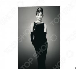 Обложка для автодокументов Mitya Veselkov «Одри в черном платье»