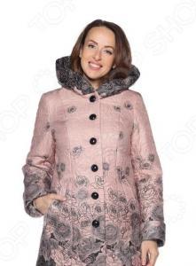 Куртка PitGakoff «Теплое дыхание» с водоотталкивающей пропиткой. Цвет: пудровый