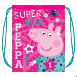 Мешок для обуви Peppa Pig «Свинка Пеппа» Superstar