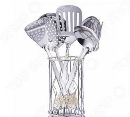 Набор кухонных принадлежностей Zeidan с подставкой «Версаче»