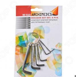 Набор ключей торцевых шестигранных Archimedes 90510: 6 шт.