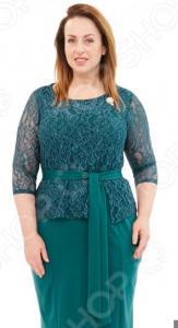 Платье Лауме-Лайн «Царица». Цвет: зеленый