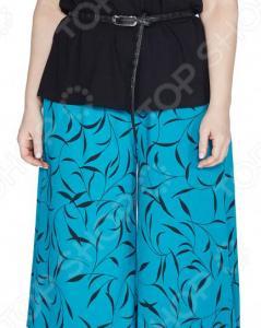 Юбка-шорты Лауме-Лайн «Переменчивый образ». Цвет: голубой