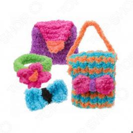 Набор для вязания спицами ALEX «Модные вещи из пушистой пряжи»