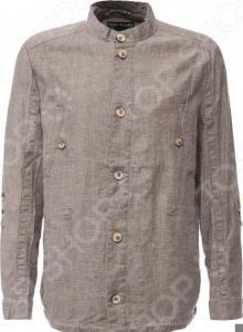 Куртка Finn Flare S16-21008. Цвет: светло-коричневый