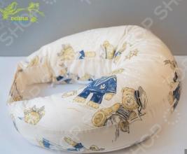 Подушка для беременных и кормления Velina на липучке