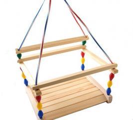 Качели для детей Деревянные игрушки - Владимир «Волна»