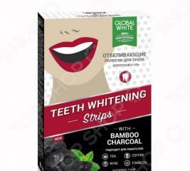Отбеливающие полоски для зубов «Древесный уголь»