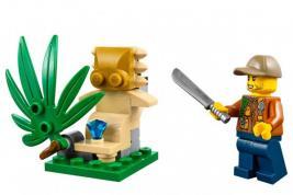 Конструктор-игрушка LEGO City «Багги для поездок по джунглям»