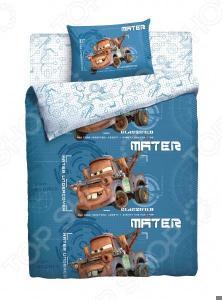 Детский комплект постельного белья Disney «Тачки Грузовичок Мэтр»