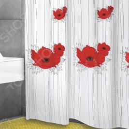 Штора для ванной Bacchetta Papavero