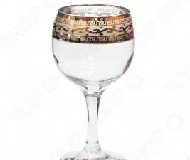 Набор фужеров для вина Гусь Хрустальный «Версаче»