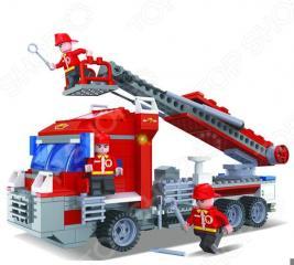 Конструктор игровой 1 Toy «Спасатели. Пожарная машина»