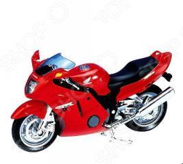 Модель мотоцикла 1:18 Welly Honda CBR1100XX. В ассортименте