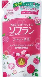 Кондиционер для белья Lion Soflan с цветочным ароматом