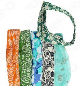 Комплект повязок на голову «Яркий день». Количество предметов: 10. В ассортименте