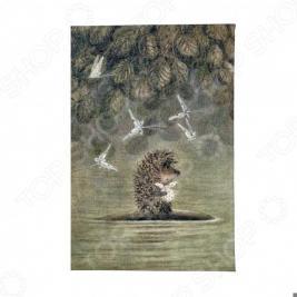 Обложка для автодокументов Mitya Veselkov «Ежик плывет»