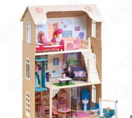 Кукольный дом с аксессуарами PAREMO «Грация»