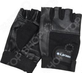 Перчатки для тяжелой атлетики и фитнеса Larsen NT506