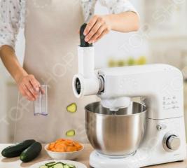 Набор для нарезки и терки для кухонного робот-комбайна Delimano DELUXE