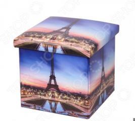 Пуф-короб для хранения Miolla Paris «Эйфелева башня»