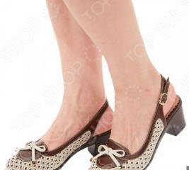 Туфли EGO «Элегия». Цвет: бежевый