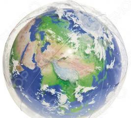 Мяч надувной с подсветкой Bestway «Земля»