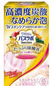 Соль для ванны Hakugen Eartn HERS Bath Labo Premium с ароматами жасмина, апельсина, леса, сакуры, розы, меда