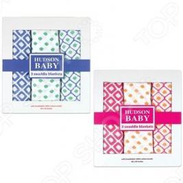 Комплект пеленок Hudson Baby «Графические узоры»