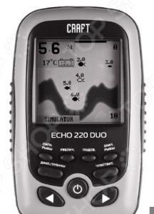 Эхолот портативный Craft Premier Echo 220 Duo Ice Edition
