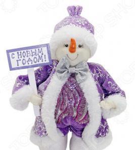Кукла под елку Новогодняя сказка «Снеговик» 972436
