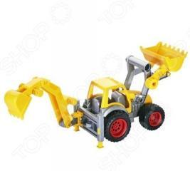 Трактор-погрузчик Wader «КонсТрак» с ковшом