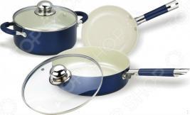 Набор кухонной посуды с внутренним керамическим покрытием Vitesse VS-2223
