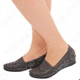Туфли EGO «Графиня». Цвет: серый